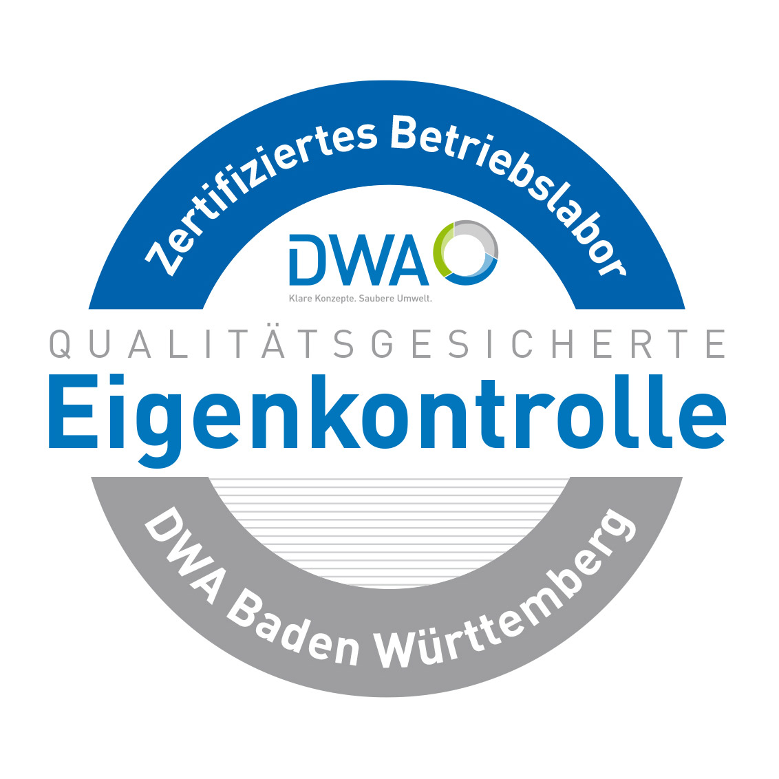 DWA-Logo-Zertifiziertes Betriebslabor